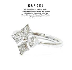GARDEL ガーデル gdr073CR BAMBINA RING リング/RINGSILVER925/シルバーCROSS/クロスメンズ/レディース/ペアアクセサリー/ジュエリー