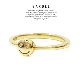 GARDEL ガーデル gdr073SM BAMBINA RING リング/RINGK18 GOLD/ゴールドSMILE/スマイルメンズ/レディース/ペアアクセサリー/ジュエリー