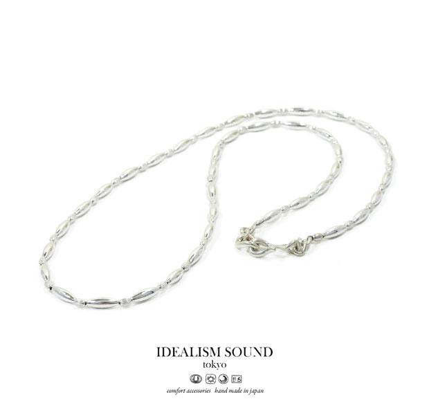 【idealism sound】 イデアリズムサウンド idealismsound No.15066 Silver Beads Necklaceシルバー ビーズ ネックレス ネイティブ メンズ レディース 【あす楽対応】