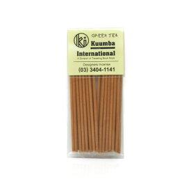 KUUMBA INTERNATIONAL クンバ インターナショナル GREEN TEA Incense お香 Goods 雑貨 フレグランス 【あす楽対応】