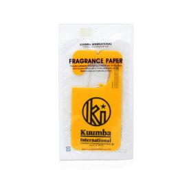 KUUMBA INTERNATIONAL クンバ インターナショナル FRAGRANCE PAPER YL Incense お香 Goods 雑貨 フレグランス