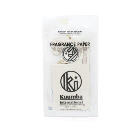 KUUMBA INTERNATIONAL クンバ インターナショナル FRAGRANCE PAPER WH Incense お香 Goods 雑貨 フレグランス