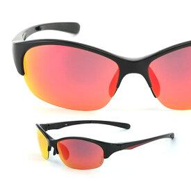 エレッセ サングラス ES-S205R メンズ 偏光サングラス ミラーサングラス uvカット ゴルフ 釣り ドライブ ジョギング 野球 ミラーレンズ ellesse