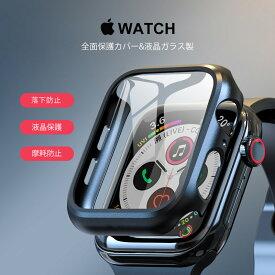 Apple Watch フルカバー FKH(送料無料)3Dガラスフィルム使用 Apple Watch Series 3 4 5 アップルウォッチ 38mm 42mm 40mm 44mm 全面 3D液晶保護フィルム 耐衝撃 カバー 指紋防止 高光沢 シリーズ 5/4/3/2 9H硝子[Z]
