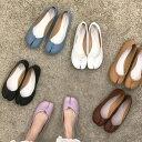 足袋パンプス(送料無料)足袋 パンプス ローヒール フラットシューズ 婦人靴 レディースシューズ タビ tabi たび バ…