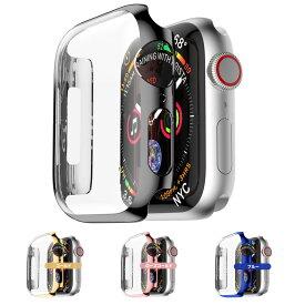 Apple Watch フルカバー ap0101(送料無料)アップルウォッチ カバー ケース 全面カバー PC素材使用 Apple Watch Series 3 4 5 38mm 42mm 40mm 44mm 液晶保護フィルム 耐衝撃 カバー シリーズ 5/4/3/2[Z]