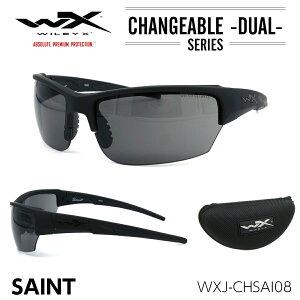 ワイリーエックス セイント サングラス WXJ-CHSAI08 スモークグレー ブラックオプス