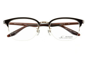 ソリッドブルー SOLID BLUE S-231 全色 セル メガネ フレーム 眼鏡 めがね ナイロール メタル  チタン 日本製 国産 鯖江 スクエア ウェリントン ボストン 軽い 軽量 男 メンズ 【送料無料】おしゃ