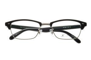ソリッドブルー SOLID BLUE S-94 全色 セル メガネ フレーム 眼鏡 めがね メタル チタン 日本製 国産 鯖江 サーモント 軽い 軽量 男 メンズ 【送料無料】おしゃれ クラシック