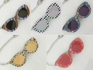 [lente] レンテ LP1-05 ピンクフラワー LED 花 スライドルーペ チェーン付 プレゼント 女性 ライト付 レディース 新品 メガネ めがね 拡大鏡 レンズ 老眼鏡 デコ 正規品