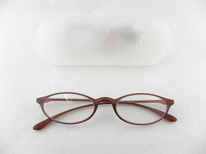 [BelleetClaire 老眼鏡] ベルエクレール 老眼鏡 92311-フィッツ-バーガン+1.00 新品 めがね メガネ ケース付 ワイン レッド 大人 正規品
