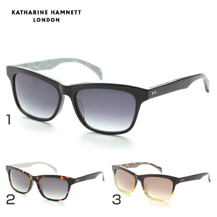 KATHARINE HAMNETT キャサリンハムネット KH923 サングラス UVカット カジュアル メンズ セル
