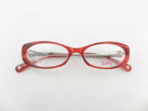 [X-girl] エックスガール XP-15-4 メガネ 赤 可愛い 新品 度付対応 ストリート 女性 レッド 星 レディース 正規品