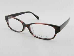 【レンズセット】[AILA] AI-2006-16 メガネフレーム 赤 レンズ付きセット アイラ お買得 セル枠 老眼鏡 男女兼用 新品 ユニセックス 眼鏡 めがね 軽量 ブランド 正規品