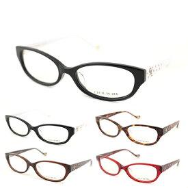 【レンズセット】[CECIL McBEE] セシルマクビー レンズセット 度付き 7019 度なし 全2色 メガネ レンズ レディース 度なし ロゴ 黒縁 ホワイト 新品 めがね ケース付き 伊達眼鏡 かわいい 正規品