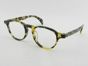 [tsetse] ツェツェ Boston-4-47 メガネフレーム べっ甲柄 ボストン シンプル 度付対応可 ケース付 デミ 柄入り 新品 眼鏡 レトロ めがね 男女兼用 クラシカル 正規品