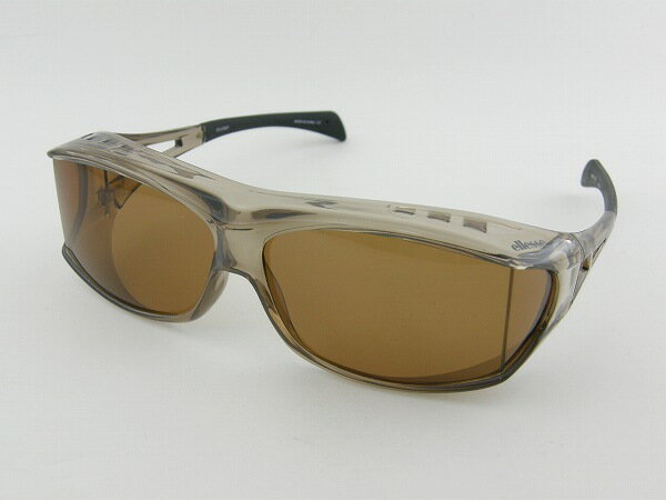 [ellesse]エレッセ ES-OS01-2 サングラス 偏光 紫外線 BR オーバーグラス メガネの上 アウトドア ドライブ UV 新品 スキー 登山 ゴルフ 正規品