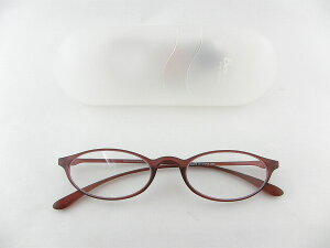 [BelleetClaire 老眼鏡] ベルエクレール 老眼鏡 92314-フィッツ-バーガン+2.50 新品 めがね メガネ ケース付 携帯 カワイイ 便利 正規品