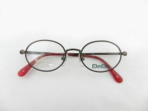 【レンズセット】[BeBe] べべ BE3045-3-44度付レンズセット 抗菌 新品 日本製抗菌オーバル子供用レンズセット 正規品