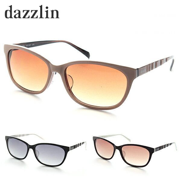 [dazzlin] DZS3521 サングラス 紫外線カット UV400 ダズリン 小顔効果 カジュアル 財布 ファッション 新品 ブランド 女性 バッグ かわいい UVカット 正規品