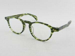 【送料無料】【日本製】【正規品】ツェツェ Boston-7 47サイズ メガネフレーム グリーン ボストン シンプル tsetse 度付可 ケース付 デミ 丸型 柄物 新品 眼鏡 レトロ めがね 男女兼用 クラシカル