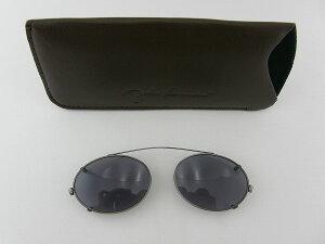 [JOHN LENNON] ジョンレノン クリップオンJL1014C-2 前掛けメガネ 奇妙 アンティーク 銀 シルバー レトロ サングラス 新作 眼鏡 めがね 軽量 軽い 知的 クール 専用ケース