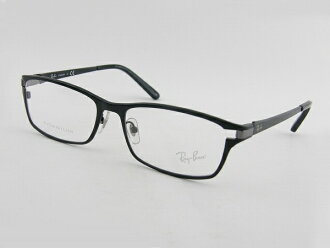 [Ray-Ban] RayBan Ray Ban 8727D-1074 eyeglasses frame black smart men's gentleman ITA with case square slender brand new real glasses glasses lightweight Titanium with allowed business AE