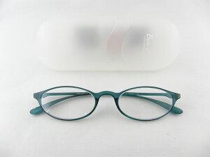 [BelleetClaire 老眼鏡] ベルエクレール 老眼鏡 92363-フィッツ-アクア+2.00 新品 めがね メガネ ケース付 文房具男性 キュート 正規品