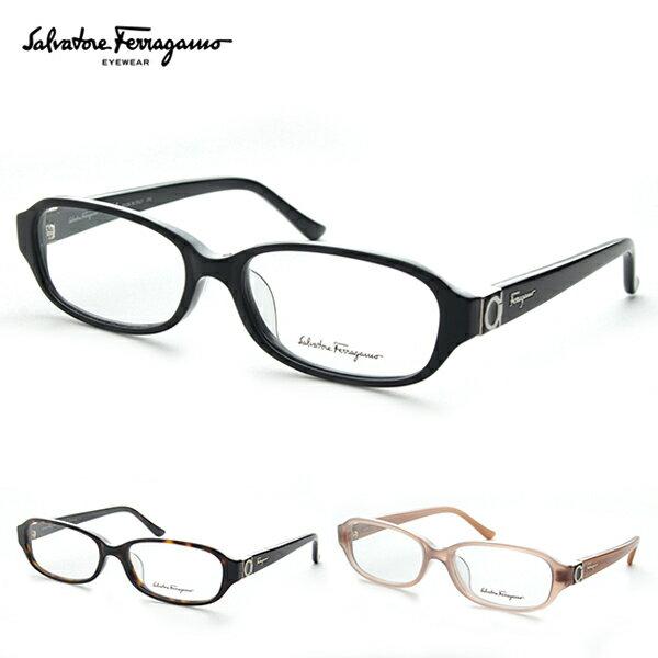 【今だけPT15倍】【送料無料】Salvatore Ferragamo フェラガモ SF2709A メガネ 度付き レディース【眼鏡フレーム】