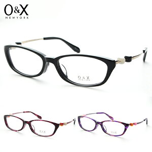 [O&X] オーアンドエックス op-J30 度付き メガネ 国産 ビーズ カラフル 日本製 かわいい デザイナー POP コンビ 新品 めがね 鯖江 メンズ 伊達眼鏡 レディース 正規品