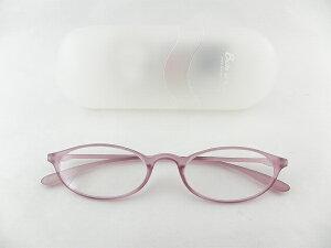 [BelleetClaire 老眼鏡] ベルエクレール 老眼鏡 92324-フィッツ-ラベンダー+2.50 新品 めがね メガネ ケース付 新聞 おめかし 紫 正規品