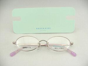 【レンズセット】[HAKKA KIDS] ハッカキッズ 121-3 レンズ付メガネセット 子供用 キッズ KIDS 薄型レンズ付 POP かわいい キュート 新品 めがね 眼鏡 CUTE 現品限り 百貨店 ブランド 正規品