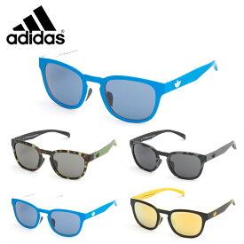 【送料無料】adidas アディダス サングラス AOR001 52 ウェリントン バイカラー メンズ レディース カジュアル カラーレンズ 正規品