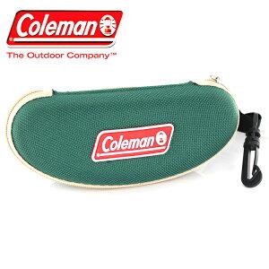コールマン サングラスケース グリーン CO 07-1 Coleman アウトドア 小物 キャンプ ゴーグル メガネケース 2WAY 大きめ ベルト通し