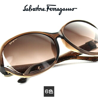 [FERRAGAMO, Ferragamo SF770SA sunglasses face mesh mesh Salvatore Ferragamo high-end large Womens brand new real UV cut UV presents retro genuine overseas