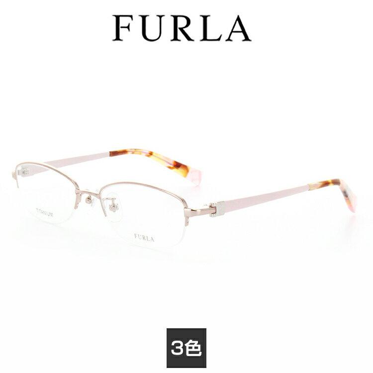 【送料無料】【国内正規品】フルラ 眼鏡フレーム VFU125J 51サイズ FURLA 女性 レディース titan チタンニウム