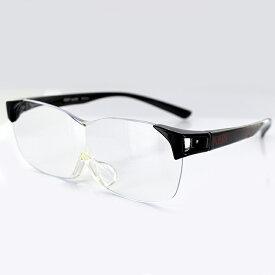 EVANGELION メガネタイプルーペ NERV (K5-SPEC) NERV 1.6倍 67サイズ ブラック ユニセックス 男女兼用 エヴァンゲリオン ネルフ メガネタイプルーペ ハンズフリー 紫外線99%カット 老眼鏡