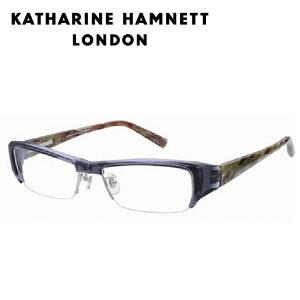 【送料無料】【日本製】キャサリンハムネット メガネフレーム KH9090 56サイズ スクエア ミリタリー 男女兼用 KATHARINE HAMNETT メガネ 度付き 度なし PCメガネ【国内正規品】