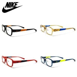 メガネフレーム ナイキ 5009AF 48サイズ スクエア キッズ ジュニア 子供用 NIKE JUNIOR 軽量 眼鏡フレーム PCメガネ ブルーライトカット 度付き対応可 国内正規品 送料無料