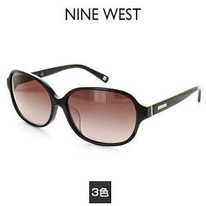 【国内正規品】NINE WEST サングラス NW601SAF 59サイズ ブラック ナインウェスト レディース 女性用 UVカット 紫外線カット