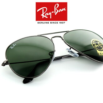 78c9414e019 The レイバンアビエーターラージメタルサングラス RB3025 W0879 58 size teardrop gunmetal unisex man  and woman combined use RayBan AVIATOR LARGE METAL teardrop ...