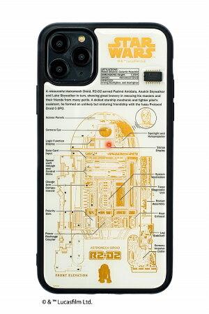 STARWARSR2-D2基板アートiPhone11promaxケース【ご注文より20営業日前後にて発送】