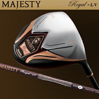 丸万高尔夫球日本正规的物品MAJESTY Royal-LV(majiesutiroiyaruerubui)460cc司机MAJESTY Royal-LV碳轴