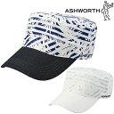 ASHWORTH(アシュワース)日本正規品プリントドゴールゴルフワークキャップKM868【あす楽対応】