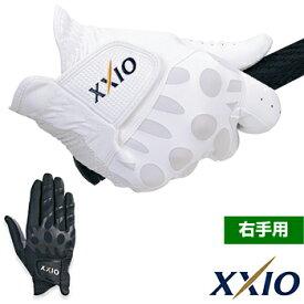 2017モデルダンロップ ゼクシオナノフロント使用、合成皮革ゴルフグローブ「右手用」GGG−X010R