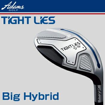 Adams Golf(アダムスゴルフ)日本正規品TIGHT LIES(タイトライズ)ビッグハイブリッド(ユーティリティ)タイトライズ専用TL−2カーボンシャフト【あす楽対応】