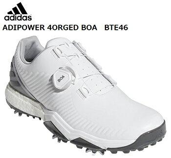 adidasGolf(アディダスゴルフ)日本正規品ADIPOWER4ORGEDBOA(アディパワーフォージドボア)ソフトスパイクゴルフシューズ2019モデル「BTE46」【あす楽対応】