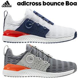 【【最大3000円OFFクーポン】】adidas Golf(アディダスゴルフ) 日本正規品 ADICROSS BOUNCE BOA (アディクロスバウンスボア) climacoolメッシュタイプ スパイクレスゴルフシューズ 2019モデル 「BTE54」 【あす楽対応】