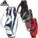 【【最大3300円OFFクーポン】】adidas Golf(アディダスゴルフ) 日本正規品 ライトウェイトスリムキャディバッグ 軽量…