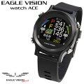 EAGLEVISION(イーグルビジョン)watchACE(ウォッチエース)ゴルフナビ2019モデルEV-933「腕時計型GPS距離測定器」【あす楽対応】